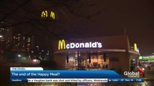 The end of the Happy Meal?