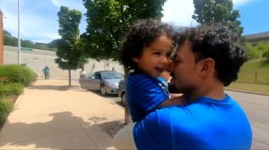 Immigrant child from Honduras reunited with father in Michigan