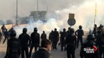 Clashes in Islamabad as police try to break up Islamist protest
