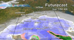 Saskatchewan weather outlook: heavy snow, strong wind this weekend