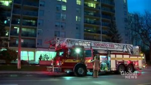 Elderly man in serious condition after apartment fire on Marlee Avenue