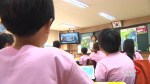 South Korean school children, citizens watch televised inter-Korean summit