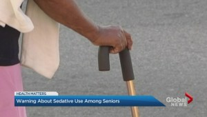 Warning about sedative use among seniors