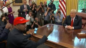 Kanye West: Our President should be the flyest, dopest, thing ever