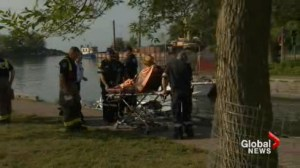 Elderly man rescued after foot stuck in rocks at Scarborough Bluffs