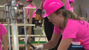 Habitat for Humanity rallies women to help build homes in Edmonton area