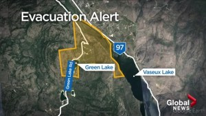 Green Lake Road flooding prompts Evacuation Alert for nearby residents