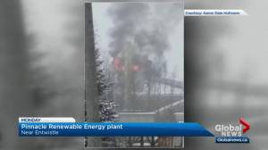 Renewable energy company's plants history of fires