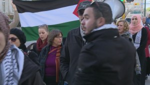 Pro-Palestine rally in Regina hopes to catch Ottawa's ear