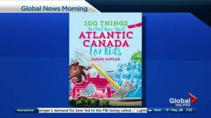 Kids book filled with facts about Atlantic Canada