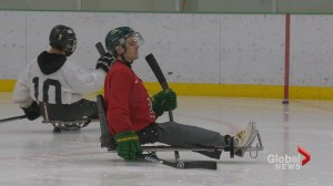 Humboldt bus crash survivor Ryan Straschnitzki working towards sledge hockey dream