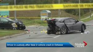 Man dead, another in police custody following early morning crash in Oshawa