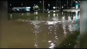 Bath Road Flooded