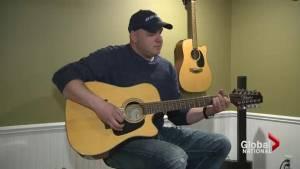 Injured RCMP officer turns to healing power of music