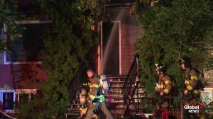 House fire rocks Edmonton's Hazeldean neighbourhood