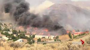 Saskatchewan sends resources to aid British Columbia in fighting wildfires
