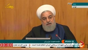 Hassan Rouhani tells the U.S.: This is no time for talking