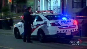 Man in hospital after stabbing in downtown Toronto