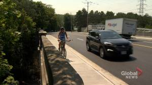 No bike lanes added to newly refurbished section of Halifax's Quinpool road