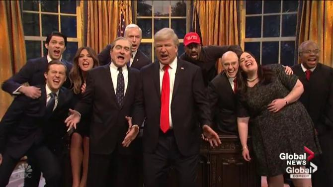 Alec Baldwin's Donald Trump sings 'Don't Stop Me Now' spoof on 'SNL' cold open