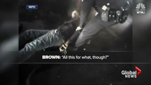 Milwaukee police release hours of body camera footage showing the arrest of Sterling Brown