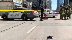 At least 9 people dead after white van strikes pedestrians in Toronto