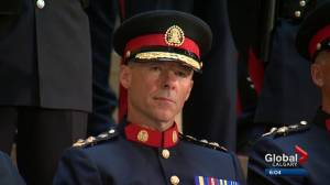 Calgary's new police Chief Mark Neufeld sworn in