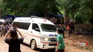 3 rescuers at flooded Thai cave electrocuted, sent to hospital
