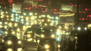 First significant snowfall of the season snarls traffic in GTA (00:45)