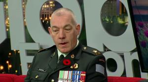 Maj. John McDougall talks about importance of Remembrance Day