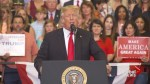 Trump talks about 'campaign spy' during Nashville rally