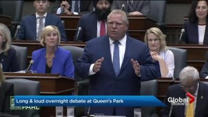 Doug Ford government to push through Bill 31 after late-night session