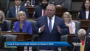 Doug Ford government to push through Bill 31 after late-night session (02:11)