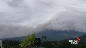 Ash spews from Mayon volcano in Phillipines as Emergency Alert issued
