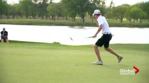 Saskatoon's high school golf championships end in spectacular fashion