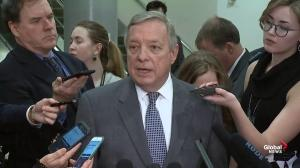 Durbin slams White House for Haspel not being at Khashoggi meeting