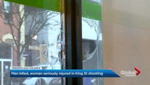 Man fatally shot in downtown Toronto