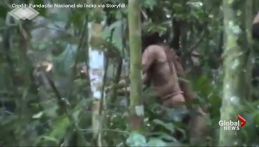Truly Alone Sole Survivor Of An Amazon Tribe Refuses All Outside Contact