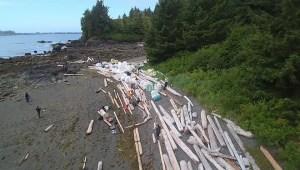 RAW: Removing tsunami debris from the West Coast