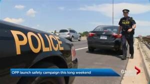 OPP takes safety campaign to Ontario highways for Thanksgiving weekend (01:35)