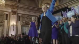 Elizabeth Warren signals likely U.S. presidential bid for 2020