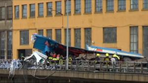Highway bridge collapse in Italy kills at least 20