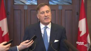 Federal Budget 2019: Maxime Bernier calls Liberal spending 'irresponsible'