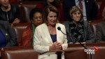 U.S. Rep. Nancy Pelosi wraps up record-breaking 8 hour talk on Dreamers in house