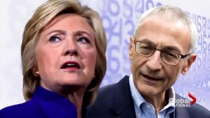 Hillary Clinton: Russia blamed for John Podesta email hack