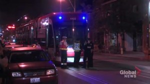 Man seriously injured after being struck by streetcar in west-end Toronto