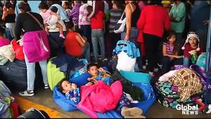 Thousands of Venezuelans rush to Peru border ahead of crackdown