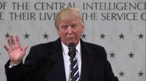 'There's nobody that feels stronger about the intelligence community': Trump