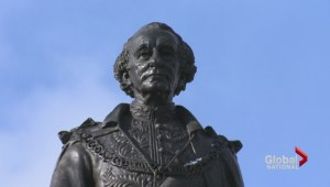 John A. Macdonald statue vandalized in protest of indigenous policies