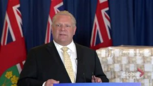 Ontario election 2018: Doug Ford takes direct approach to communicating with voters